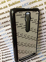 Чехол для 2D сублимации пластиковый на ASUS Zenfone 2 черный, фото 2