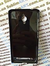 Чехол для 2D сублимации пластиковый на ASUS Zenfone GO черный, фото 3