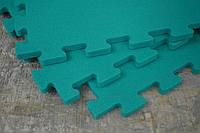 Коврик-пазл для детей 12мм, цвет зеленый