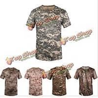 Футболка мужская армейская камуфляж