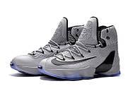 Мужские баскетбольные кроссовки Nike Lebron 13 Elite (Grey) , фото 1