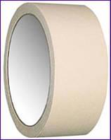 Малярная лента жёлтая, 38 мм х 20 м х 130 мкм