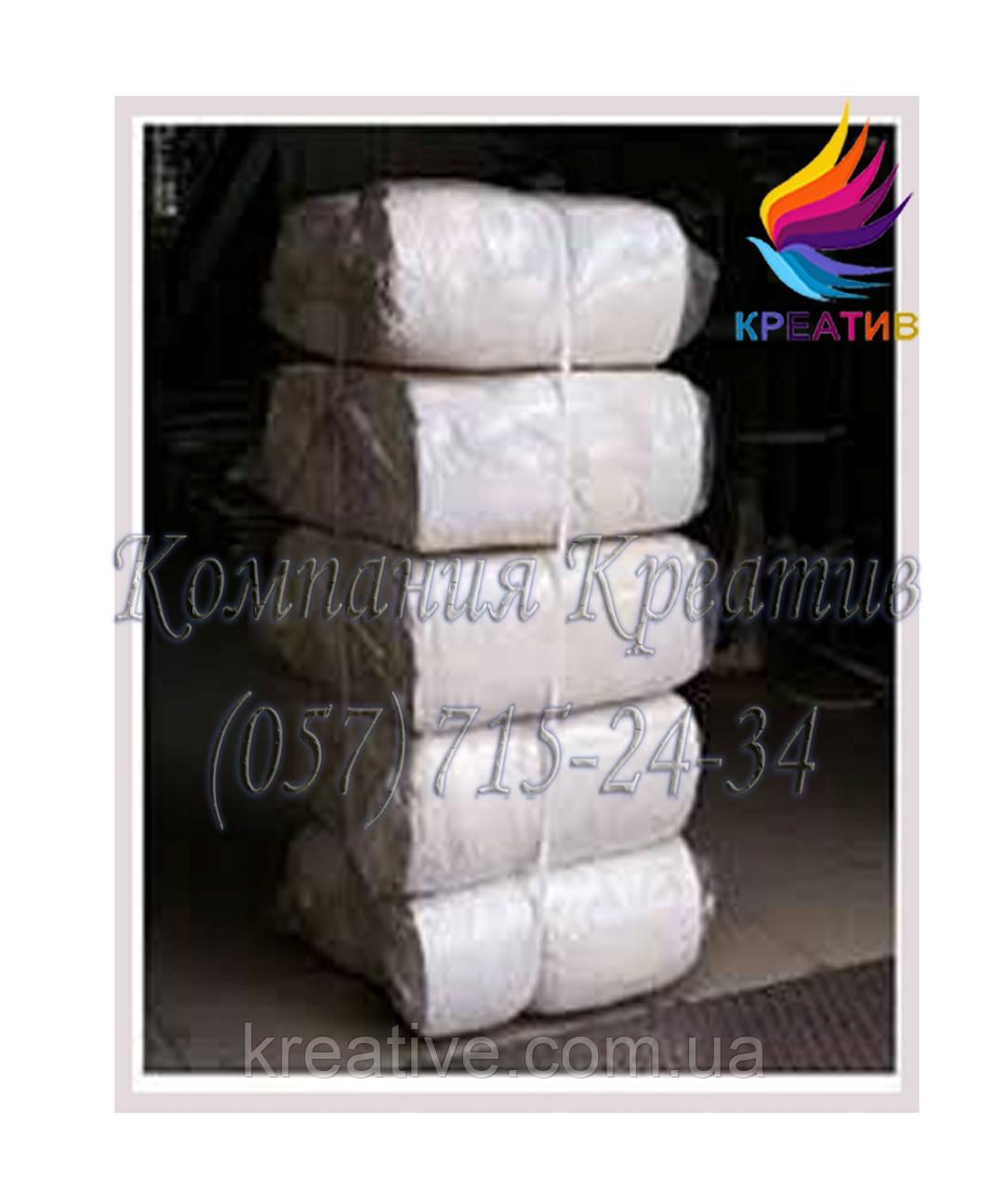 Ветошь (белая хб. трикотажная резаная ветошь) (от 50 кг.)