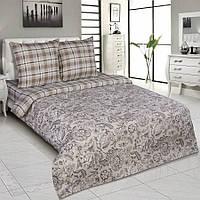 Комплект постельного белья двуспальный, поплин Ода