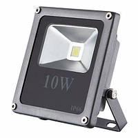Светодиодный прожектор LEDEX 10W, 650lm, 6500К холодный белый, 120º, IP65, ECO (slim)