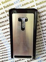 Чехол для 2D сублимации пластиковый на ASUS Zenfone Selfie черный, фото 3