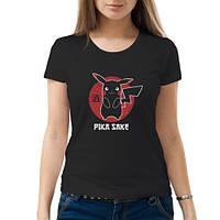 Женская футболка «Pika Sake»