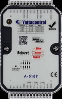 Контроллер А-5190 (2DI, 2AI(0/4-20mA), 2AI(PT100: -50...+200C), 2DO,2AO,  LCD-дисплей, USB2.0x1, MODBUS RTU)