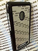 Чехол для 2D сублимации пластиковый на ASUS Zenfone 5 черный, фото 2