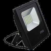 Светодиодный прожектор LEDEX 30W slim SMD, 2700lm, 6500К холодный белый, 180º, IP65, TL12734, Premium