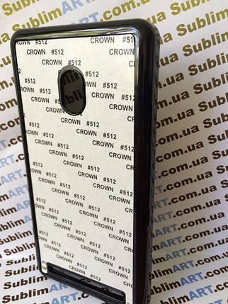 Чехол для 2D сублимации пластиковый на ASUS Zenfone 6 черный, фото 2