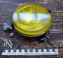 Фара противотуманная круглая (желтая) ФПГ-119