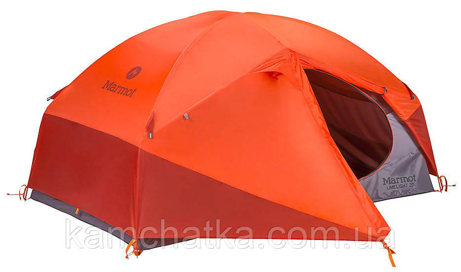 Палатка туристическая Marmot Limelight 2p MRT 27930 Cinder/Rusted Orange