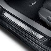 Накладки на пороги с подсветкой Acura RDX 2016-2017 новый оригинальные