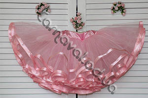 Юбка-пачка розовая