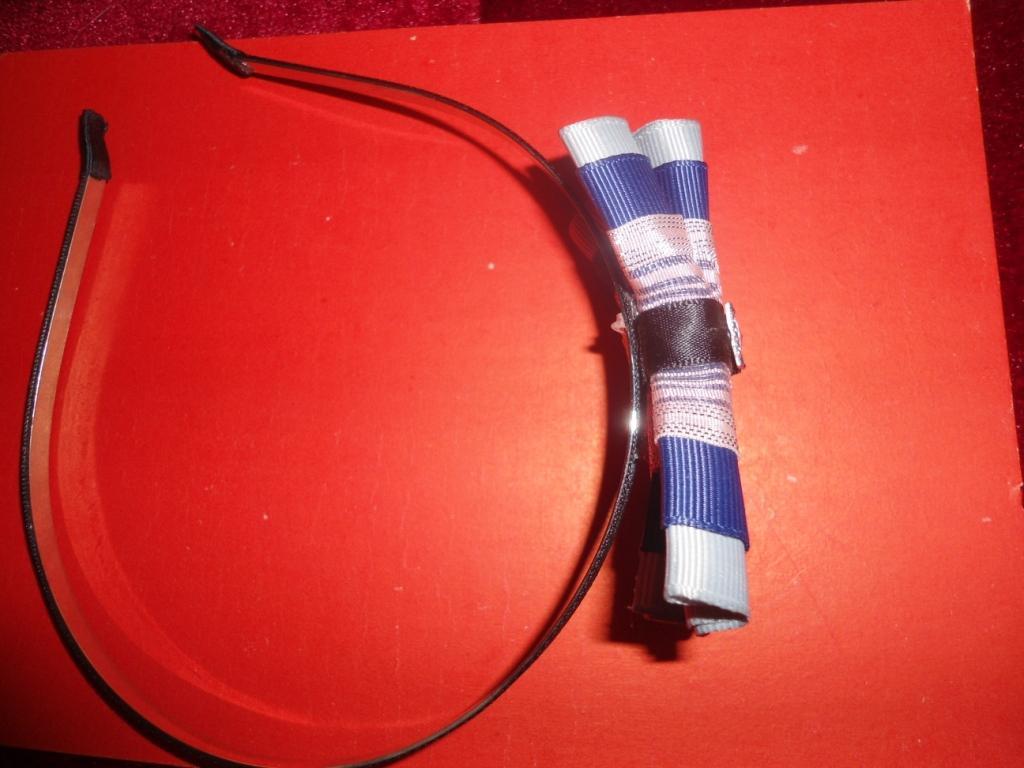 Ободок обруч для волос с бантиком Об2