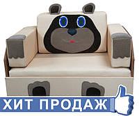 Детский маленький диванчик Мишка