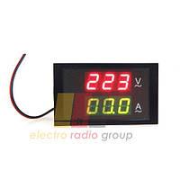 Вольтметр-Амперметр цифровой переменного тока 80-300V 0-99.9A