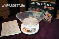 Электронные Кухонные Весы с Чашей ― Electric Kitchen Weighing Scale