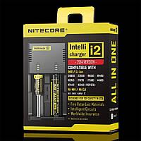 Зарядное устройство для аккумуляторов для электронных сигарет Nitecore i2 new