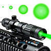 Фокусируемый лазерный фонарь для охоты зеленый луч 50mW