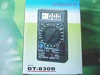 Цифровой мультиметр тестер вольтметр DT-830B