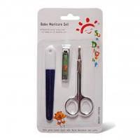 Набор ножницы с пилочкой и кусачками для новорожденных
