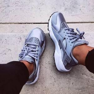 Кроссовки в стиле Nike Air Huarache Grey, фото 2