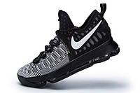 Мужские баскетбольные кроссовки Nike KD 9  (Oreo), фото 1