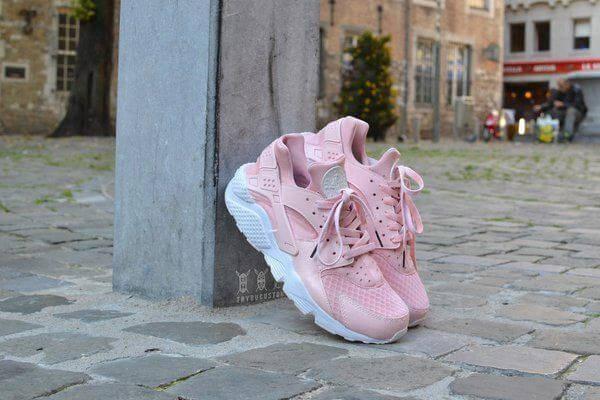 Кроссовки в стиле Nike Air Huarache Pretty Rose, фото 2