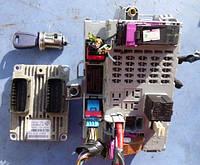 Блок управления двигателем комплект ( ЭБУ )FiatDoblo 1.4 8V2005-2009IAW 5SF.MA   Magneti Marelli 51784959