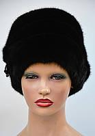 Женская меховая шапка из норки Наоми, фото 1