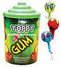 Леденец на палочке Toppy Gum 100 шт (Saturn)