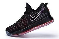 Мужские баскетбольные кроссовки Nike KD 9  (Black/Red), фото 1