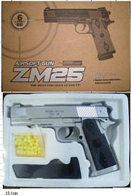 Пистолет CYMA ZM25 с пульками метал.кор
