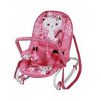 Шезлонг детский Bertoni TOP RELAX (pink kitten)