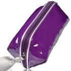 Косметичка фиолетовая с серым бантиком, 48127