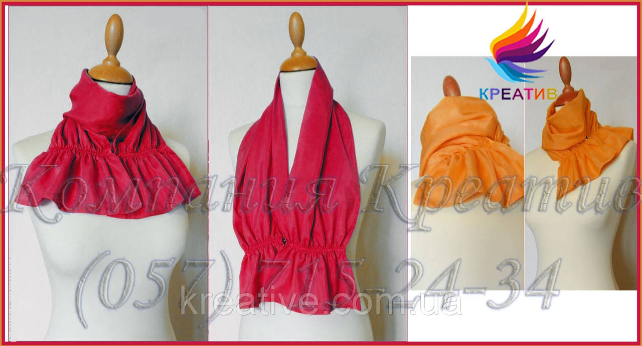 Фишю шарф-трансформер под заказ (от 50 шт)