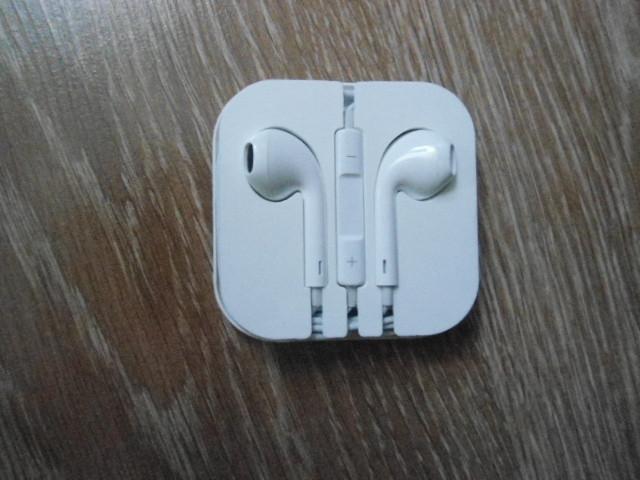Белые наушники гарнитура для Iphone Ipad, 2шт