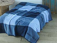 Плед-покрывало Marie Claire CAROLINE  голубое 150*200