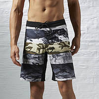 Спортивные шорты для мужчин Reebok ONE Series Winter Camo Sublimated COAL S16-R S93621