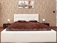Двуспальная Кровать Fresh 160*200 с мягким изголовьем в ромбах на заказ в Одессе