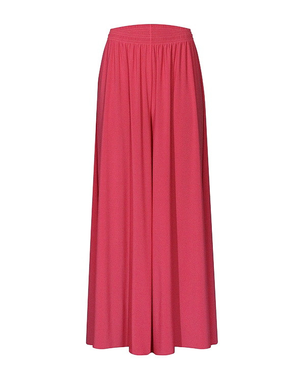 - юбка брюки - цвет коралл -
