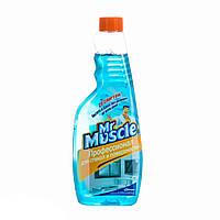 Mr.Muscle профессионал для  мытья окон и стеклянных поверхностей (запаска)