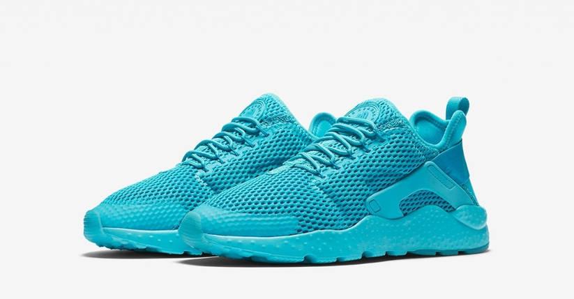 Кроссовки женские в стиле Nike Air Huarache Tropical Teal, фото 2