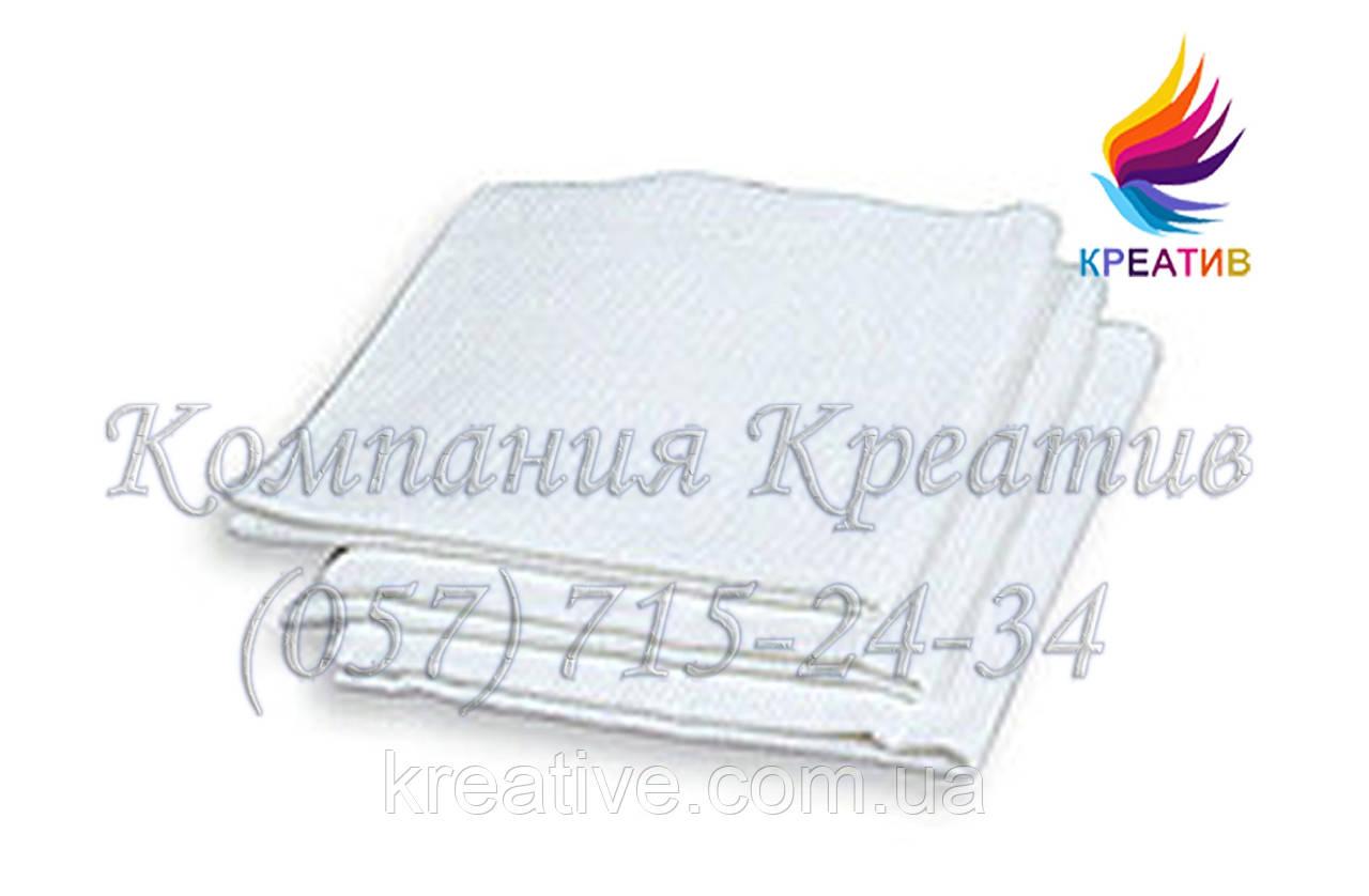 Белые бязевые полотенца с возможностью нанесения логотипа (от 1000 шт.)