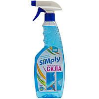 Моющее средство для стекл и зеркал Simply 0,5л