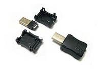 Штекер mini USB 5 pin, под шнур