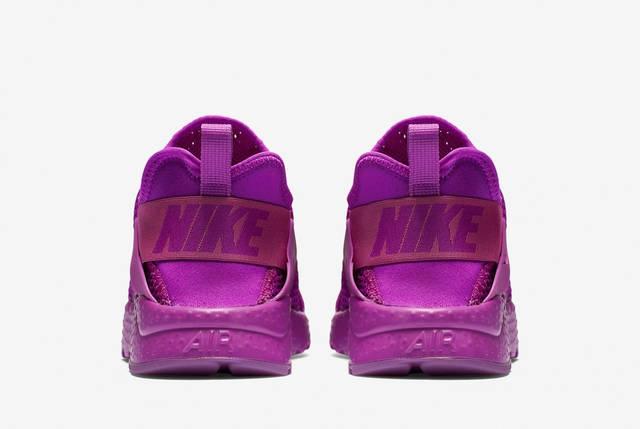 Кроссовки женские в стиле Nike Air Huarache Hyper Violet, фото 2