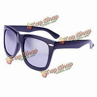 Заклепки объектив ретро uv400 солнцезащитные очки зеркальные очки для мужчин женщин